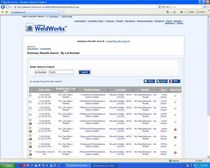 weld management software WeldWorks&amp;trade;  techMatrix, LLC