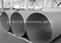 "welded stainless steel pipe 3/4"" - 6 1/2""  Metals International Limited"