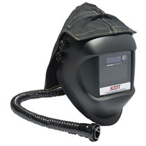 welding helmet / mask with respirator T4 SCOTT SAFETY EMEA