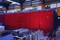 welding protection curtain 2mm / 0,4mm KEALA