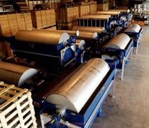 wet magnetic drum separator  ERIEZ