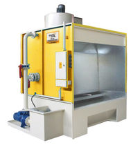 wet powder coating booth  Bilgi Teknik Makina Ltd.