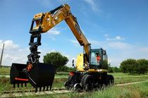 wheel excavator for rail way track 22 t | 22TRR  UNAC