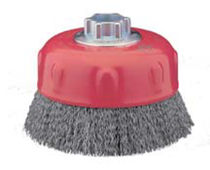 wire cup brush for cleaning, stripping  Norton Abrasives