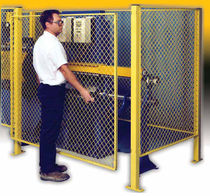 wire mesh partition for machine guard EZ Guard® Wireway Husky
