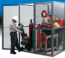 wire mesh partition for tool storage Stored-Secure® Wireway Husky