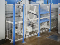 wire mesh partition for machine guard  MECA STORAGE SYSTEMS