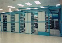 wire mesh partition for pharmacy storage  WIRECRAFTERS