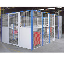 wire mesh partition for tool storage  RAYONOR