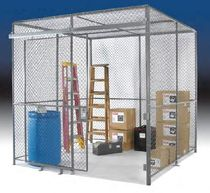 wire mesh storage partition  Wireway Husky