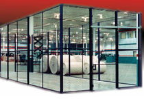 wire mesh workshop partition EZ Wire® Wireway Husky