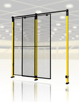 wire netting sliding safety door 1 000 x 2 300 - 5 700 x 2 300 mm AXELENT