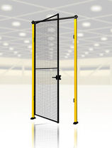 wire netting swinging safety door max. 1 500 x 2 300 mm AXELENT