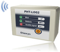 wireless relative humidity and temperature data-logger PHT-LOG2 DIAXYS