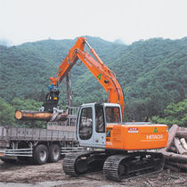 wood grab  HITACHI Construction Machinery