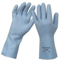 work latex gloves LAS30 ROSTAING