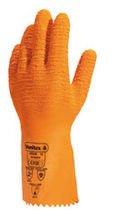 work latex gloves EN 407, EN 420, EN 388, EN 374-3 | VE990OR DELTA PLUS