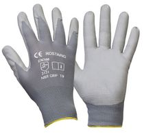 work nylon gloves with nitrile coating NBRGRIP ROSTAING