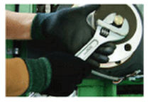 work nylon gloves with polyurethane coating SC series Samwha