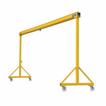 workshop gantry crane (hollow-section) 500 - 2000 kg, 2 - 5 m, 2 - 3.5 m | PORTC COMEGE