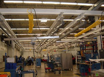 workstation crane: suspension overhead traveling crane max. 1 360 kg, max. 9 m  INGERSOLL RAND