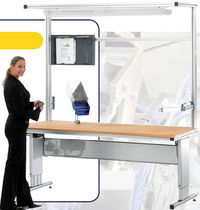 workstation max. 2000 x 800 mm | MasterDesk HAHN AUTOMATION GmbH