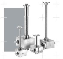 worm gear screw jack (translating screw) 2.5 - 100 kN | S.E.L. series Setec