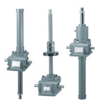 worm gear screw jack (rotating ball screw)  Tsubakimoto Chain