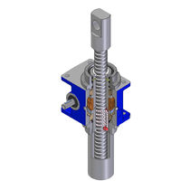worm gear screw jack (translating ball screw) 5 - 350 kN, max. 150 mm/s | MA series SERVOMECH