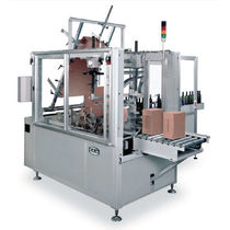 wrap-around case packer (automatic intermittent motion) max. 10 p/min | W30 CAM