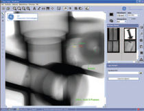 X-ray image visualisation software VISTAPLUS V GE Inspection Technologies