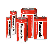 zinc-carbon battery 1.5 - 9 V | R series  Panasonic Industrial Batteries