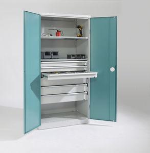 storage cabinet workshop with drawer