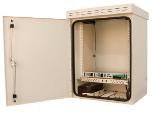 Equipped Electrical Enclosure / Wall Mounted / Aluminum / Outdoor