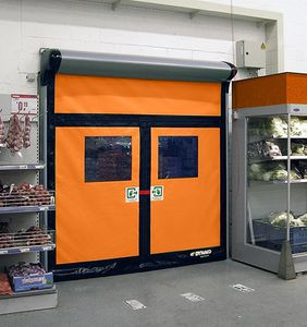 roll-up doors / PVC / industrial / with emergency exit function & Door with emergency exit function - All industrial manufacturers ...