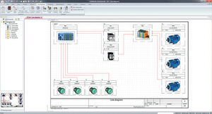 Solidworks Electrical Schematic Professional Network: SOLIDWORKS Electrical diagram software - All the products on rh:directindustry.com,Design