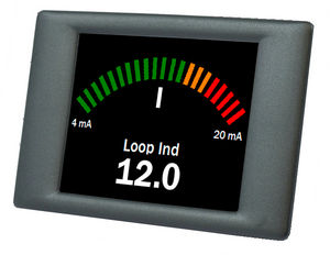 Digital Amp Meter Panel : Digital ammeter panel mount 4 20 ma dpm 942 fpsi lascar