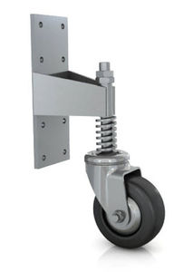 swivel caster / threaded stud / spring-loaded / steel  sc 1 st  DirectIndustry & Door caster - All industrial manufacturers