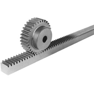 Straight Toothed Rack And Pinion Linear Hub