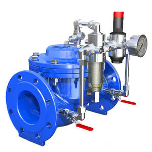 Flow control valve all industrial manufacturers videos diaphragm valve hydraulically operated flow regulator pressure reducing ccuart Images