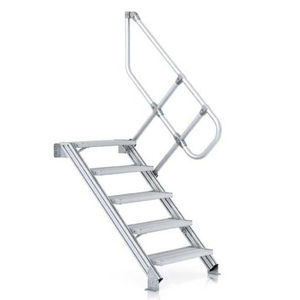 Straight Staircase / Aluminum / Steel