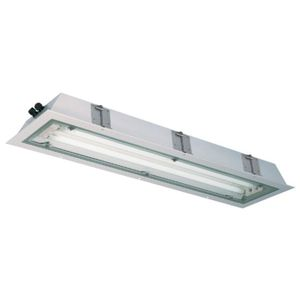 Built In Ceiling Lights: fluorescent ceiling light / explosion-proof / recessed,Lighting