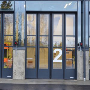 Folding door, Collapsible gate - All industrial manufacturers - Videos