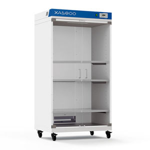 Hinged Door Drying Cabinet / Stainless Steel / On Casters / For Laboratory  Glassware