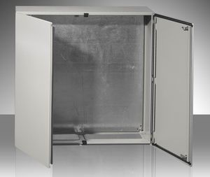 wall-mount enclosure / modular / steel / double-door & Double-door enclosure - All industrial manufacturers - Videos Pezcame.Com