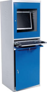 Exceptional Network Cabinet / Floor Mounted / Hinged Door / Sheet Steel