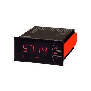 chỉ số nhiệt độ / 4 chữ số / LED / bảng điều khiển-mount