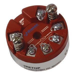 đầu dò nhiệt độ gắn đầu dò / RTD / 2 dây / analog