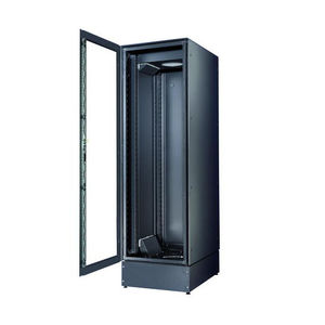 Data Cabinet / Free Standing / With Glass Doors / Steel