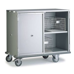 Storage Cabinet / On Casters / Rack Mount / Aluminum